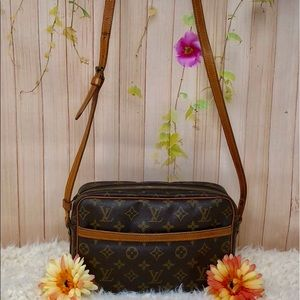 Authentic Louis Vuitton Monogram Crossbody Bag